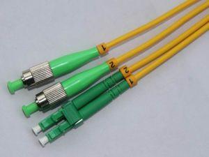 FC/APC-LC/APC-SM-DX-3.0mm Fiber Patch Cord