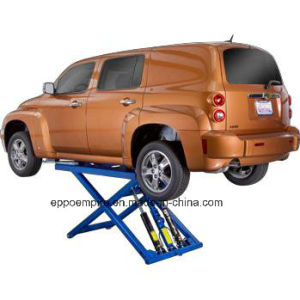 Factory Price Ce Approved Scissor Design Hydraulic Car Hoist pictures & photos