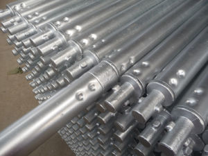 Scaffolding Twist Lock Tube Hot DIP Galvanized pictures & photos