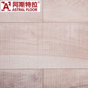 German Technical AC4 White Color (u-groove) Laminate Flooring pictures & photos