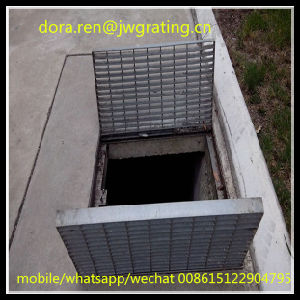 Professional Grating Manufacturer Steel Plate Trench Covers pictures & photos