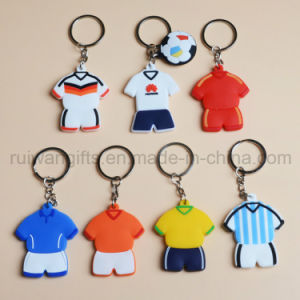 PVC Shirt Keychain, 3D Rubber Keychain for Souvenir pictures & photos