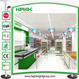 3D design Layout Customized Supermarket Equipment pictures & photos