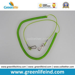 Light Green Retractable Fishing Tool Tether Lanyard for Fishing Rod