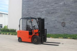 2.5tons Four Wheels Electric Counterbalanced Forklift pictures & photos