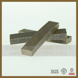 Fast Cutting Diamond Teeth Segment for Saw Blade pictures & photos