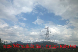 Megatro 500kv Transmission Line J1 Type Angle Tension Tower pictures & photos