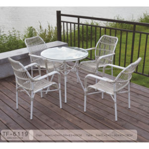 Good Quality White Garden Wicker Rattan Patio Furniture pictures & photos