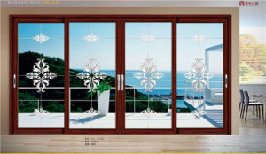 Commercial Standard Design Aluminum Sliding Door pictures & photos