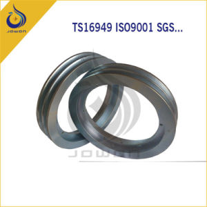 Steel Casting CNC Machining Parts Belt Pulley pictures & photos