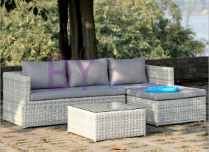 by-439 Luxury Hotel Outdoor Leisure Rattan Corner Sofa pictures & photos