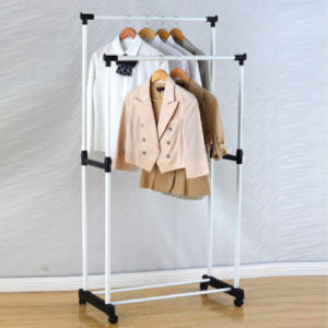 Powder Coated Double Pole Clothes Hanger pictures & photos