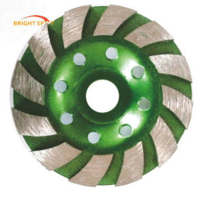 100 mm Turbo Cup Grinding Wheel Diamond Wheel pictures & photos