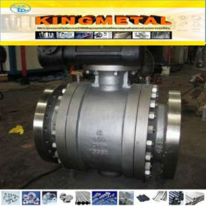 API 6D Carbon Steel Wcb/Wc6 Trunnion & Floating Ball Valve pictures & photos