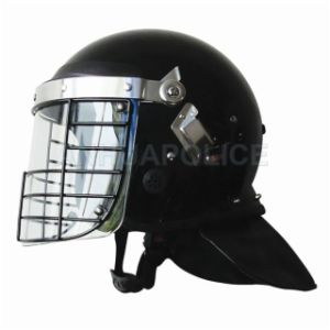 Anti-Riot Helmet with Face Net pictures & photos