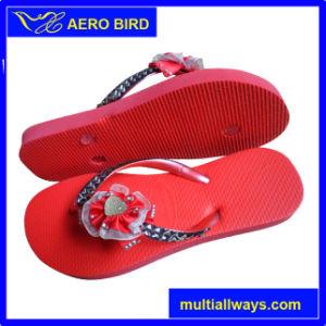 2016 Straps Decoration PE Sandal for Women