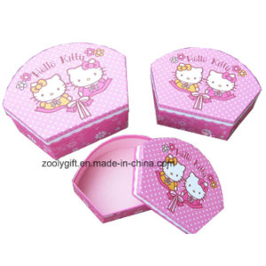 Customized Printing Sector Shape Gift Paper Box Sets pictures & photos