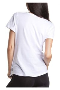 Custom Women Cotton T Shirt High Quality Scooped (A483) pictures & photos