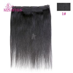 Top Grade 8A Human Virgin Halo Hair Extension pictures & photos