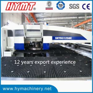 SKYB31240C CNC hydraulic turret metal punching machine pictures & photos