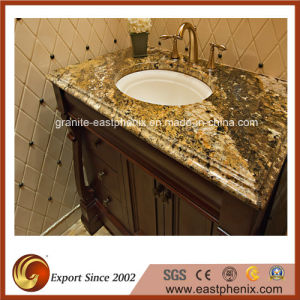 Polished Golden Vanity-Top for Bathroom pictures & photos