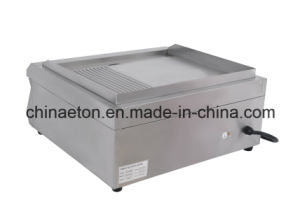 Half Grooved and Half Flat Electric Griddle for Et-Pl-600bp pictures & photos