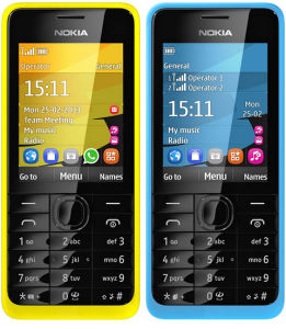 Five Colors Original for Nokia 301 Cell Phone pictures & photos