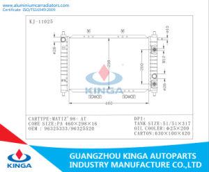 Aluminum Radiator for Daewoo Matiz′98 at OEM 96325333/96325520 pictures & photos