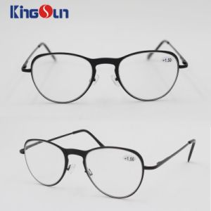 2016 Fashion Metal Glasses with Spring Temple pictures & photos