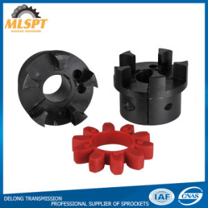 Blacked Flexible Hot Sale Industrial Power Transmission L Jaw Couplings pictures & photos