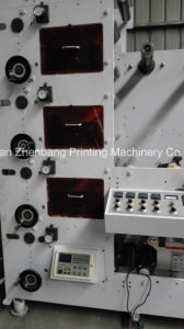 Flexographic Printing Machine 4 Color Die Cutting and Slitting pictures & photos