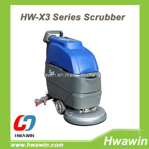 Walk Behind Floor Scrubber for Office Building pictures & photos
