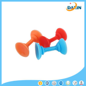 Candy Colored Phone Holder Mini Silicone Universal Creative Double Chuck Bracket Stent pictures & photos