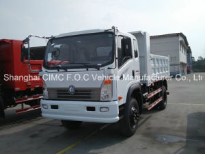Sinotruk Cdw 757series 4X2 Automatic Small Light Duty Mini Cargo Tipping Dumper Lorry Tipper Dump Truck