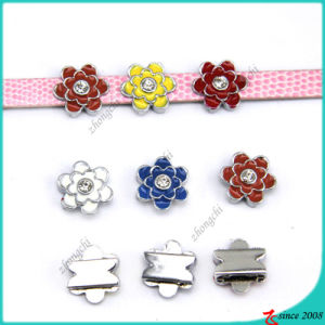 Colorful Flower Slide Charms for Bracelet accessories  (SC16040947)
