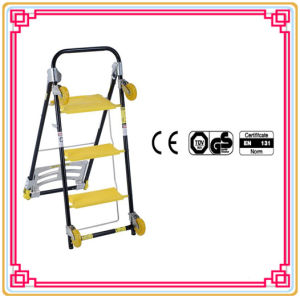 3 Step Super Trolley by CE/En 131 Certificated pictures & photos