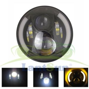 Auto Parts 7′′ Round LED Headlight Lighting with DRL for Tj Jk Hummer pictures & photos