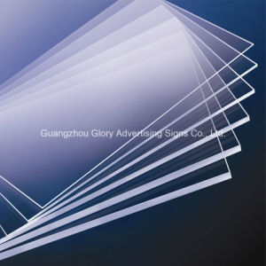 Plastic PMMA Acrylic Sheet for Advertising Sign pictures & photos