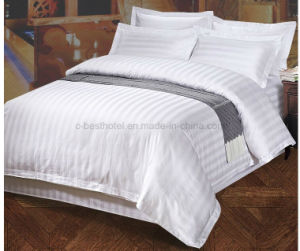 100% Cotton Bedsheet Hotel Bedding Set pictures & photos