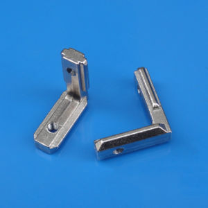 90 Degree Zn-Alloy Inner Bracket for Connecting Industrial Profiles Machine pictures & photos