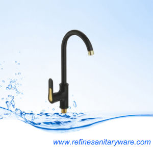 China Hot and Cold Water Kitchen Sink Faucet Mixer (R7130030BG-M7188Y) pictures & photos