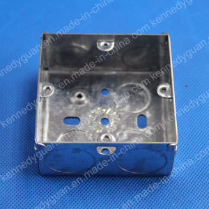 3X3 Deep 35mm G. I Socket Box Electrical Swtich Boxes pictures & photos
