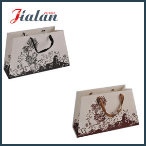 2016 New Design Cheap Custom Logo Printed Paper Shopping Bag pictures & photos