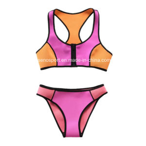 Fashion Sexy Women Neoprene Swimwear Bikini (SNBK01)