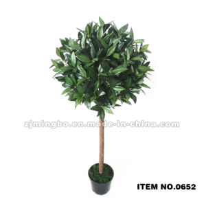122cm Artificial Bay Tree in Small Size Potted Plant 0652