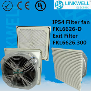 China Hot Selling Dust Proof Air Cooling Fan Filter with CE RoHS IP54 Certificate for Power Distribution Control Box (FKL6626-D) pictures & photos