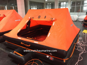 6 Men Solas Approval Throw Overboard Inflatable Life Raft pictures & photos