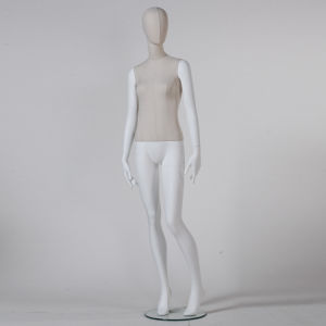 Fabric Wrapped Full Body Female Mannequin in Hot Sale pictures & photos