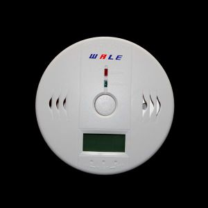 Independent Co/Carbon Monoxide Detector Sensor with LCD Display pictures & photos