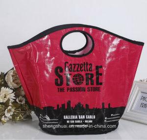 2016 New Design Wholesale Custom PP Woven Shopping Bag
